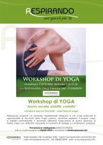 yoga corso yoga seminario yoga workshop yoga codroipo udine pordenone ottobre 2018 asana