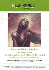 CORSO PITTURA INTUITIVA CODROIPO SIMONE FANTINI UDINE PORDENONE