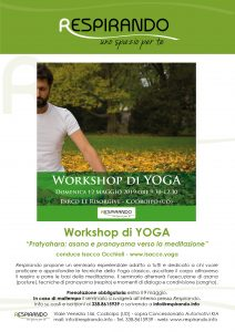 yoga maestro yoga corso yoga master yoga seminario yoga workshop yoga codroipo udine pordenone maggio 2019